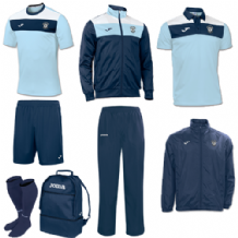 Carryduff AFC Crew Bundle Pack - Navy/White/Sky - Adults